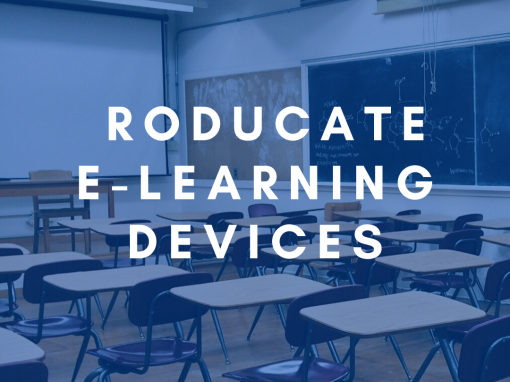 Roducate E-learning devices