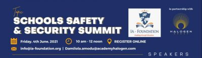 IA-Foundation and Halogen Security held The virtual Schools Safety and Security Summit