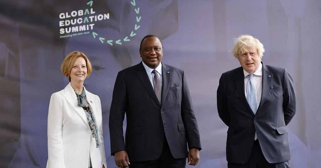 IA- FOUNDATION JOINS GLOBAL EDUCATION SUMMIT IN RAISING OUR HANDS TO EDUCATION
